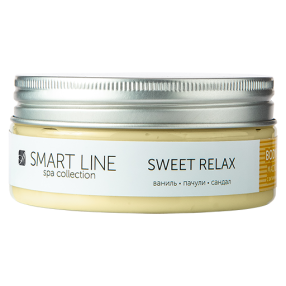 Sweet relax масло для тела с ароматом ванили, пачули и сандала