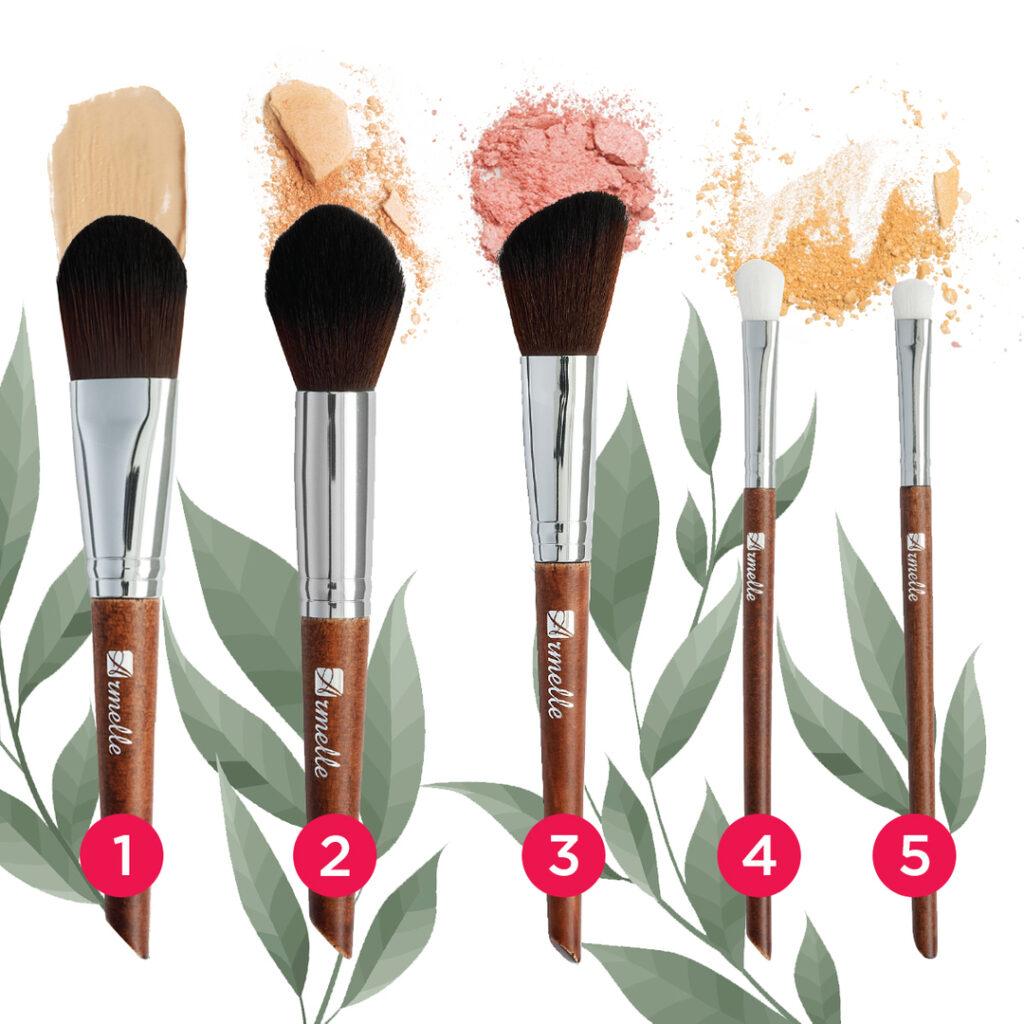 5 видов кистей от Armelle для вашего безупречного макияжа