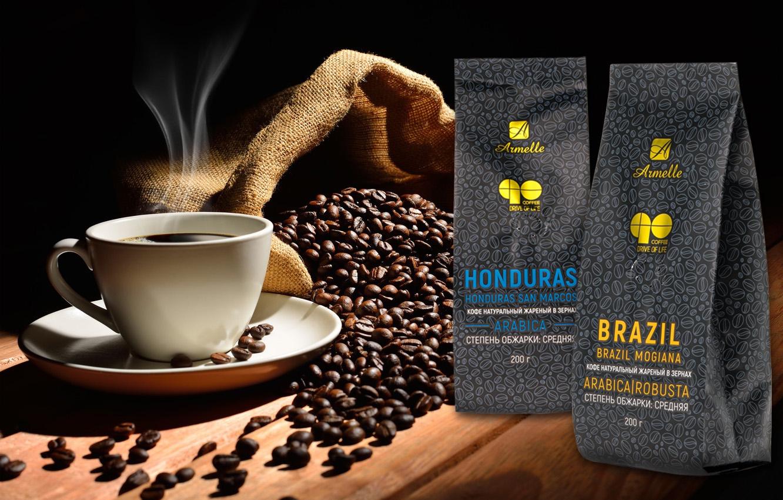 натуральный жареный кофе Armelle